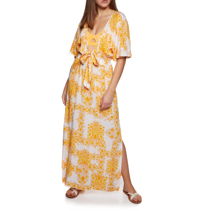 bfafc0d22575 Seafolly Sunflower Maxi Dame Kjole available from Surfdome