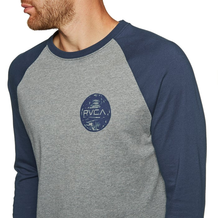 RVCA Motors Chest Long Sleeve T-Shirt