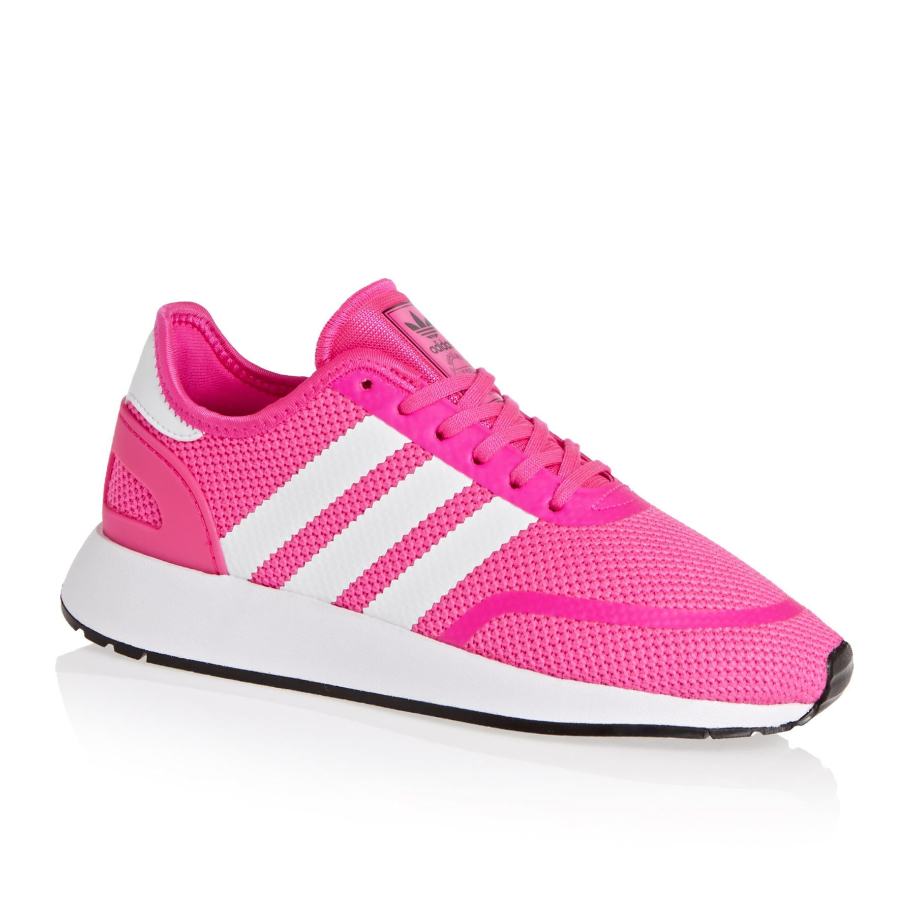 Adidas Originals N-5923 Junior Kids Shoes - Shocking Pink White Black