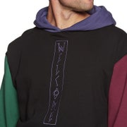 Welcome Quadrant Colour Blocked Pullover Hoody