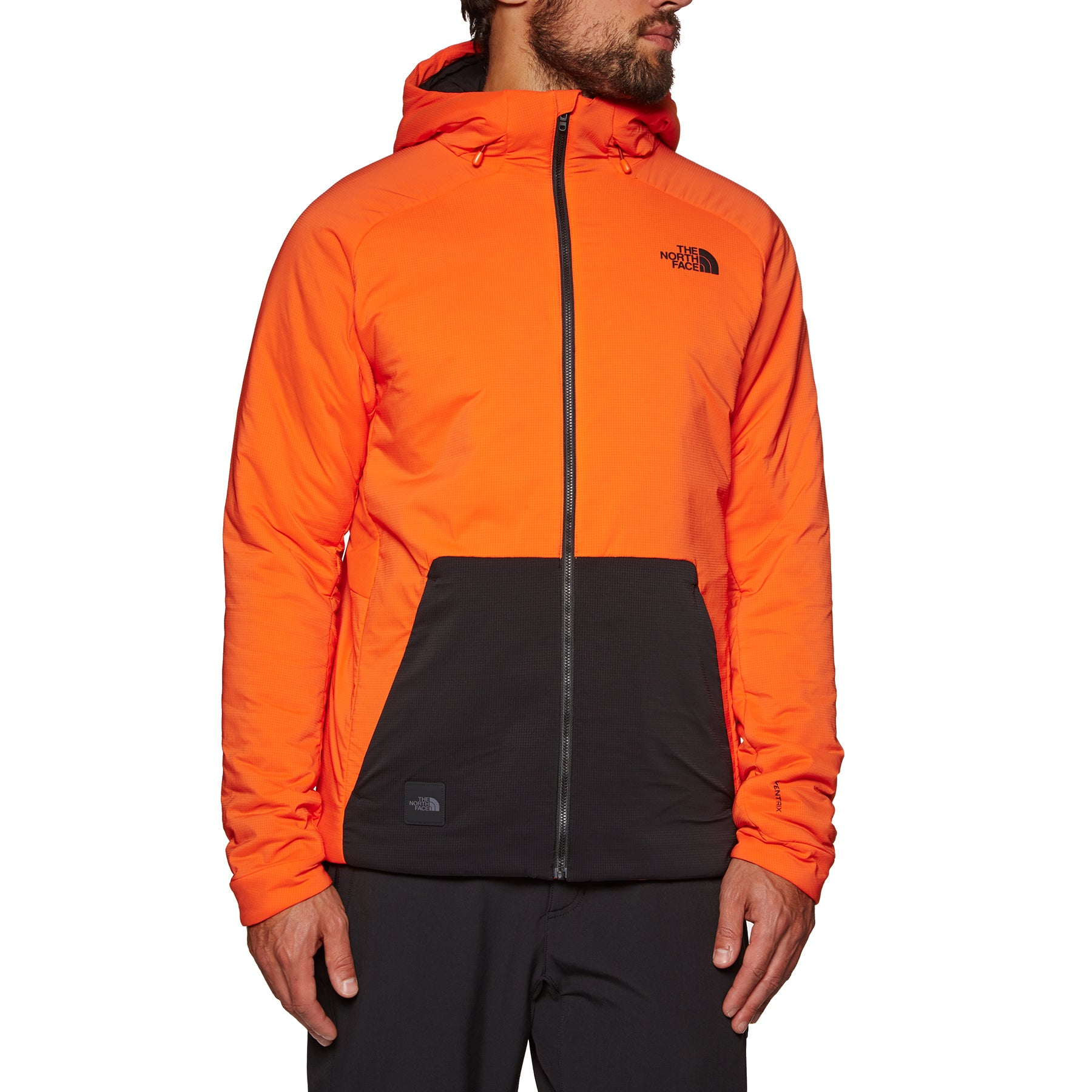 North Face Lodgefather Ventrix Jacket - Persian Orange TNF Black