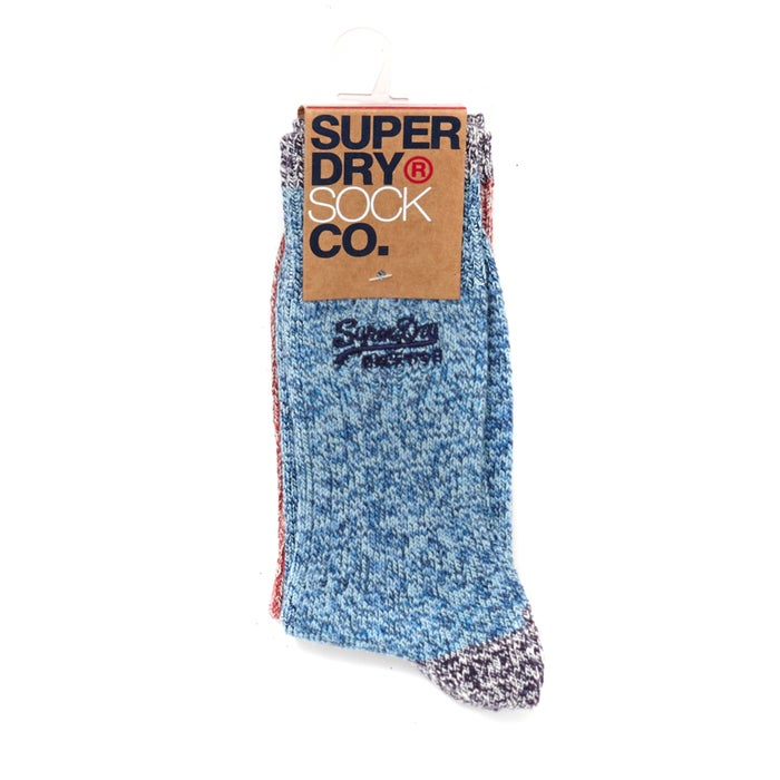 Chaussettes Superdry Dry Mountaineer Sock Double Pack
