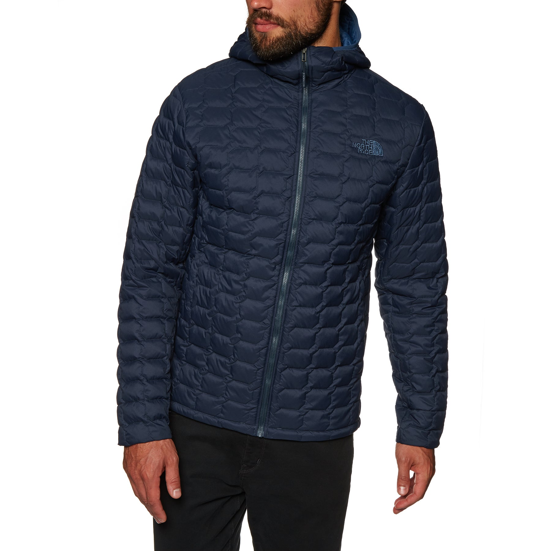 North Face Thermoball Hooded Jacket - Urban Navy Matte