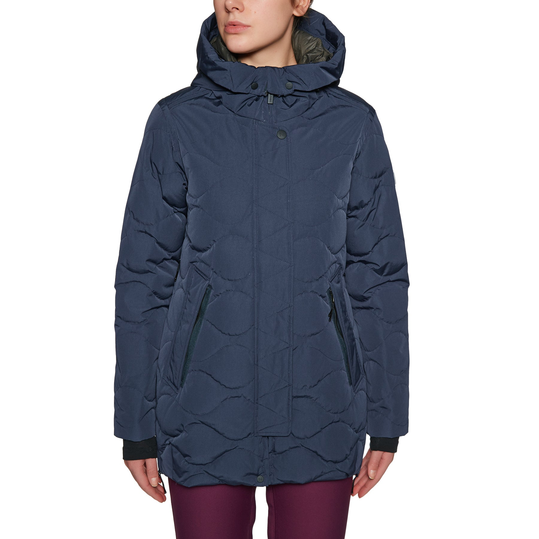 Holden Marren Down Womens Snow Jacket - Navy