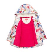 Chaqueta Girls Joules Utility Aop Waterfall