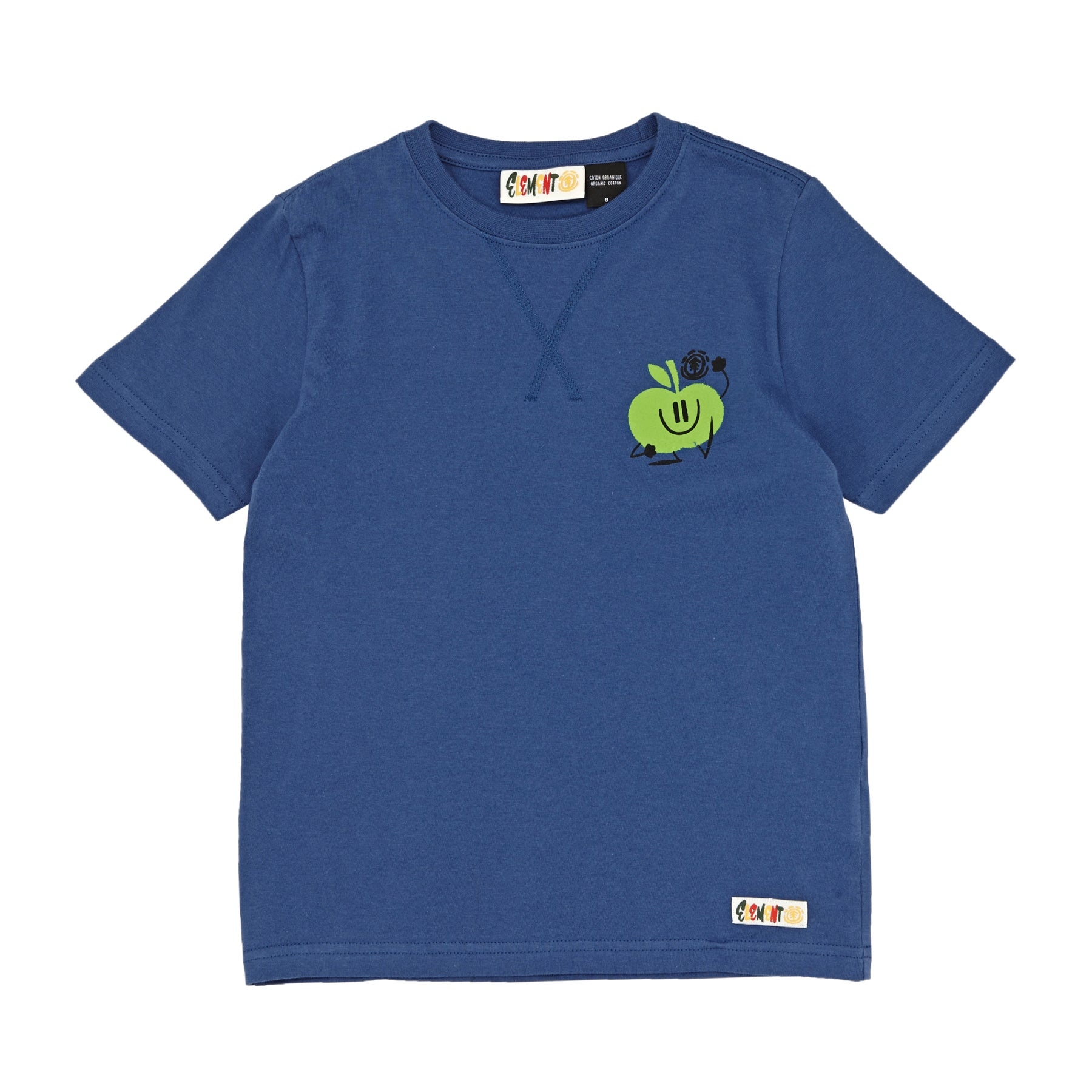Element Yawyd Healthy Kids Short Sleeve T-Shirt - Blueberry