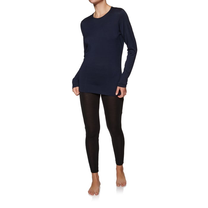 Icebreaker 200 Oasis Long Sleeve Crewe Womens Base Layer Top