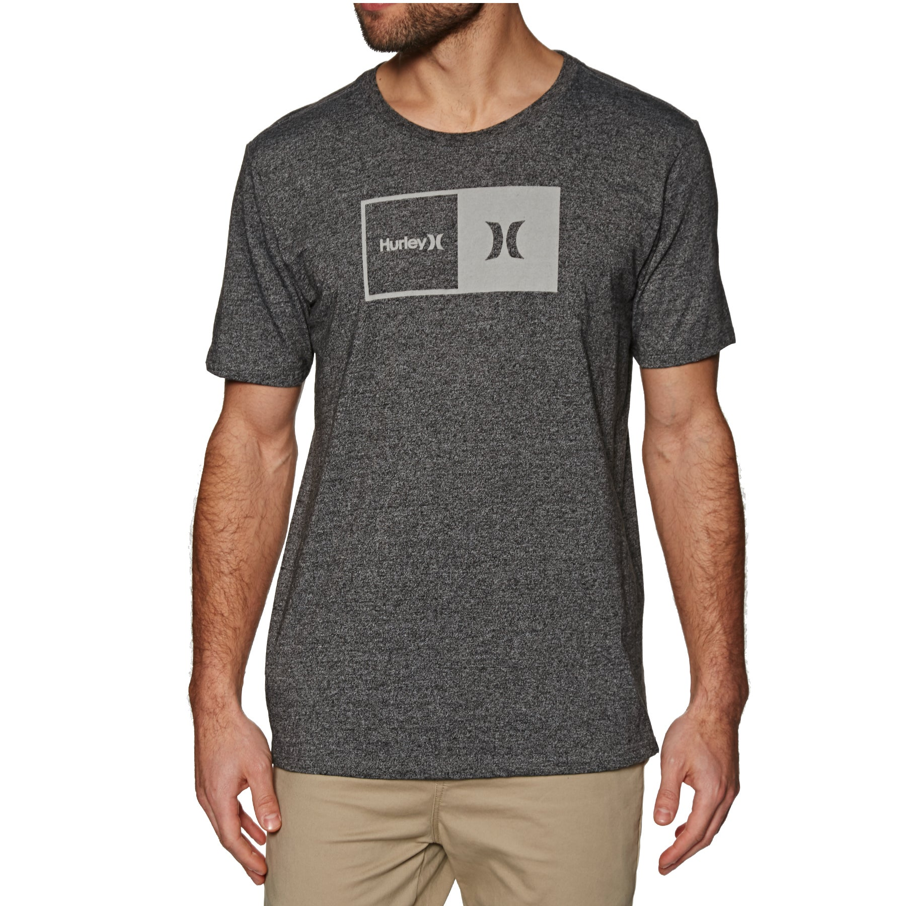 c8cf8513ead Hurley Siro Natural Short Sleeve T-Shirt available from Surfdome