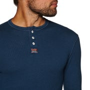 Superdry Heritage Grandad Long Sleeve T-Shirt