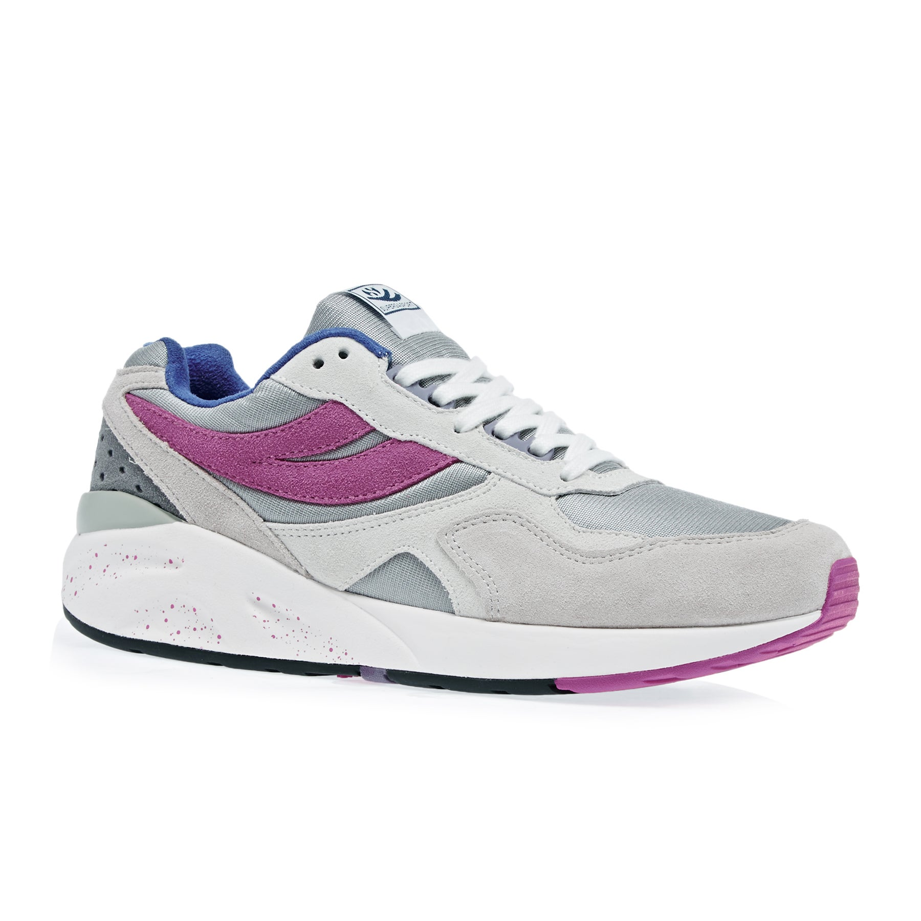 Superga Sport 9TS Shoes - Grey Fuxia Violet