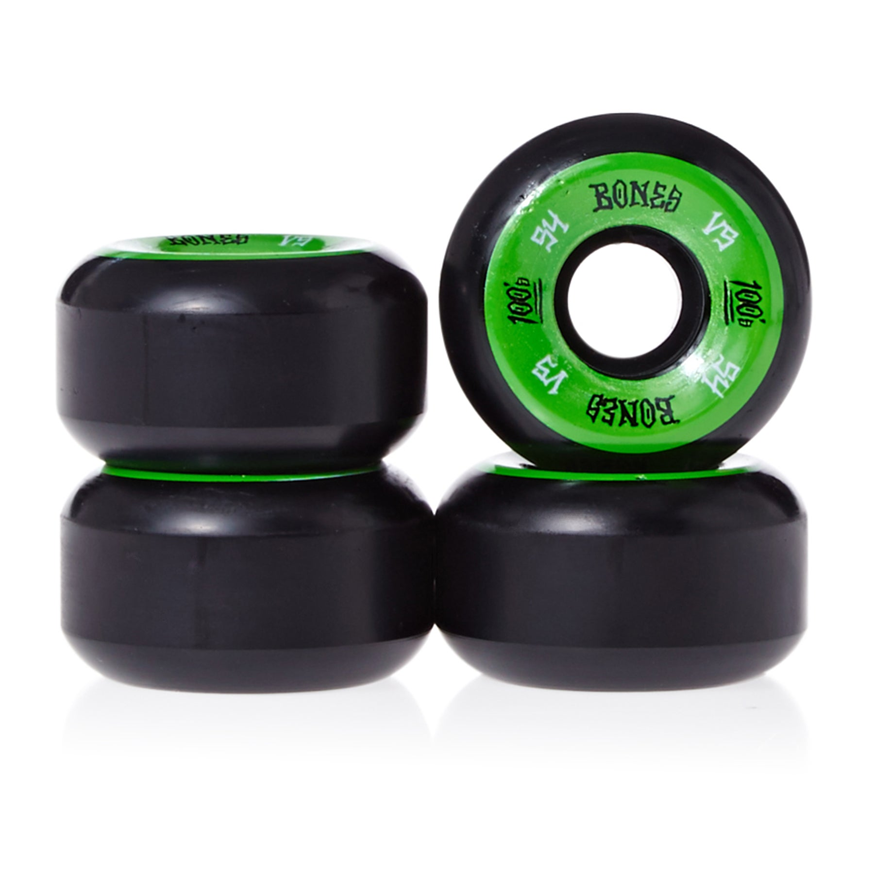 Bones 100's #1 V5 54 Mm Skateboard Wheel - Black