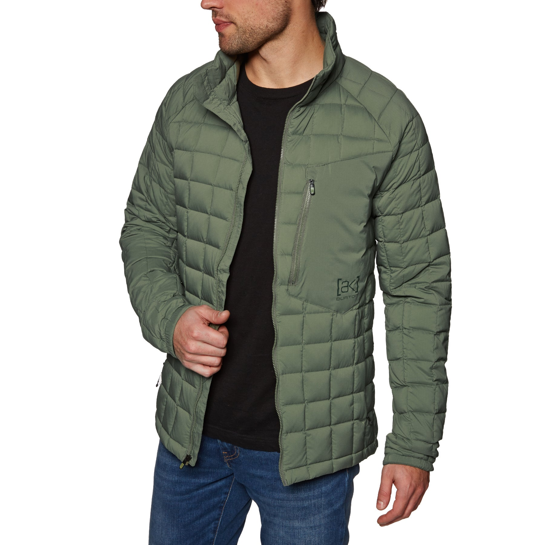 Burton Ak Bk Lite Insulator Down Jacket - Dusty Olive