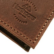 Northcore Adventure Ultra Slim Leather Wallet