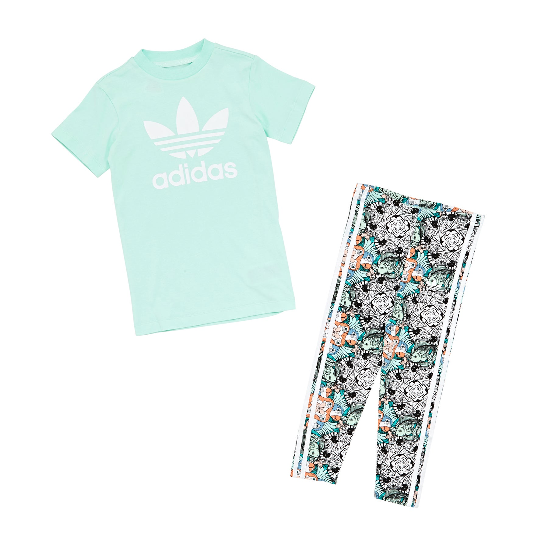 42718d86b26f9 Adidas Originals Zoo set Kids Short Sleeve T-Shirt available from ...