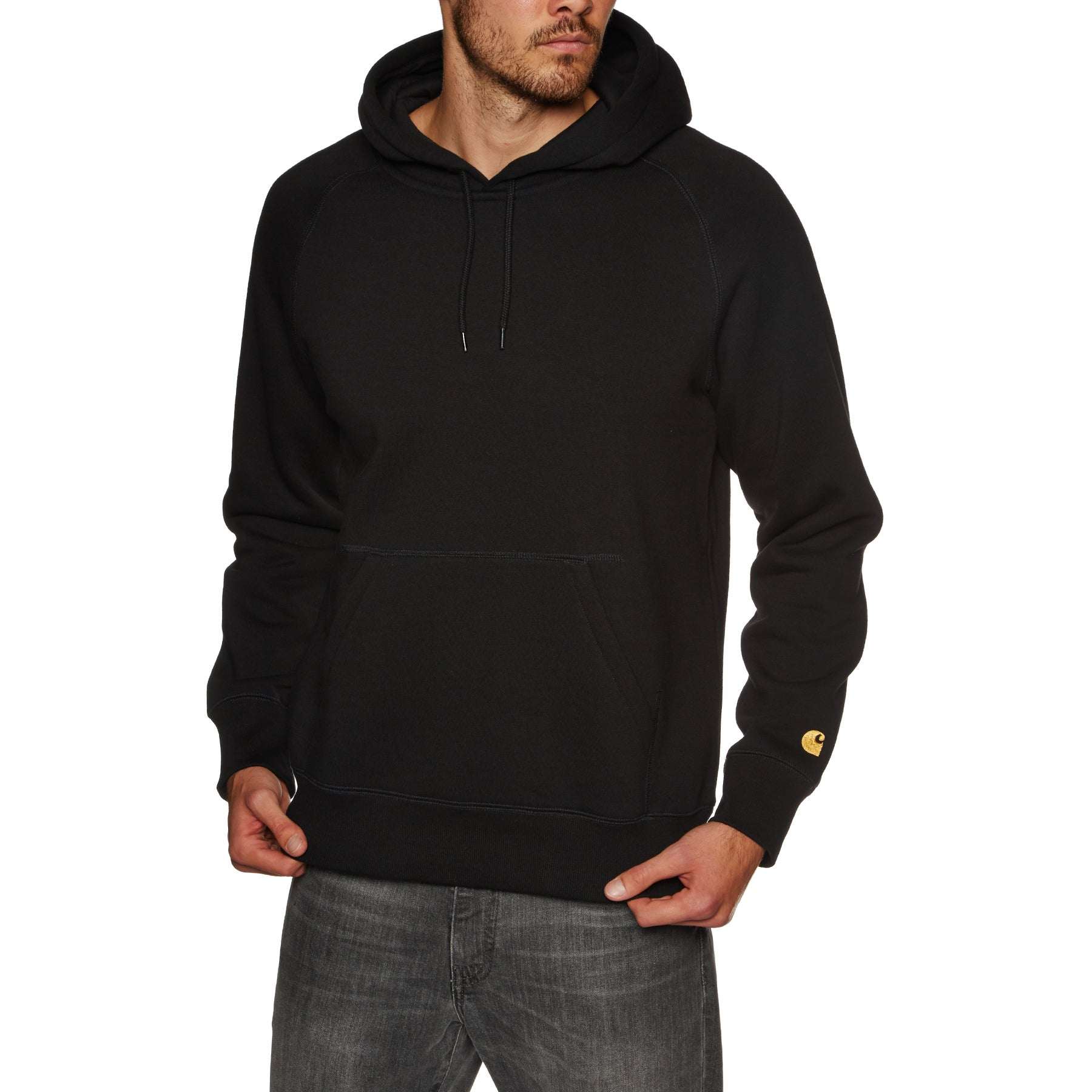Pullover à Capuche Carhartt Chase - Black
