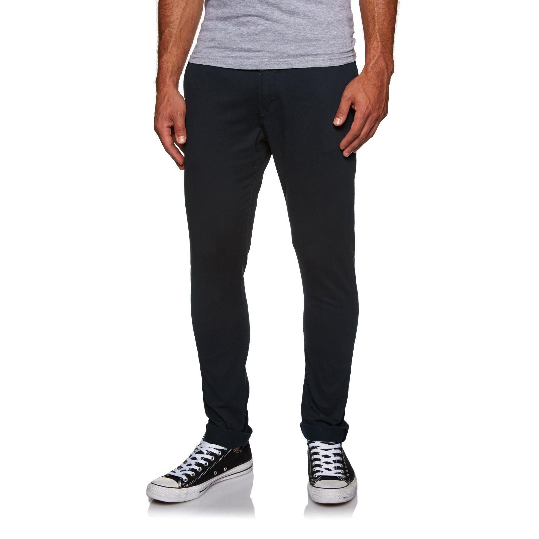 Quiksilver Krandy Slim Chino Pant - Black