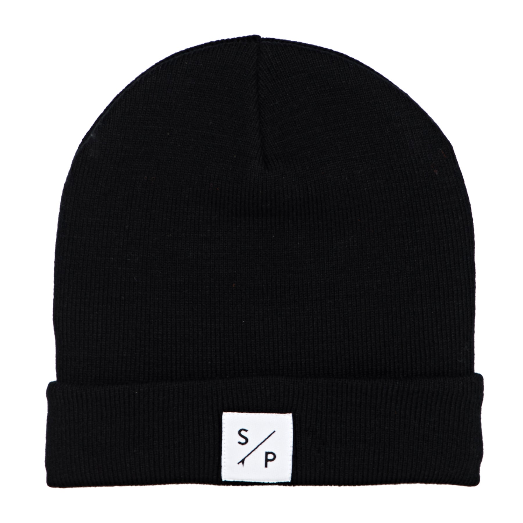 Surf Perimeters The SP Classic Knit Beanie - Black