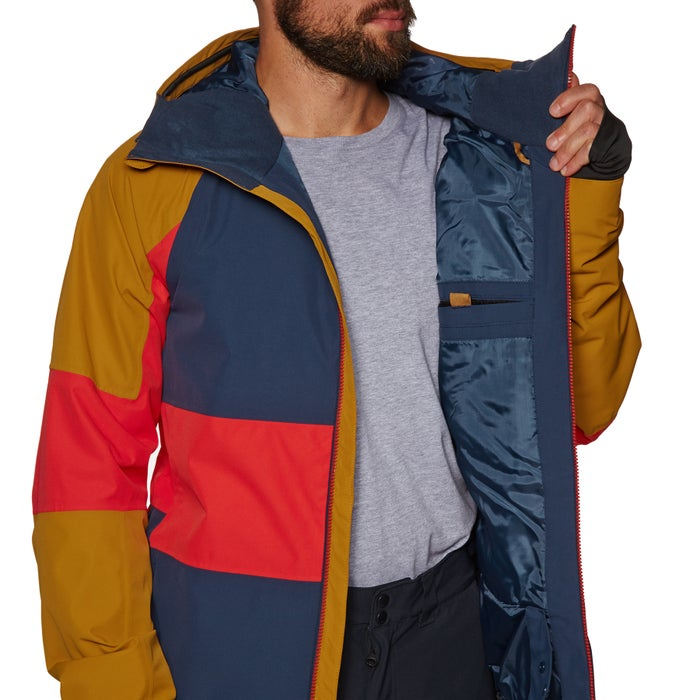 842f98214 Quiksilver Mens Sycamore Snow Jacket available from Surfdome