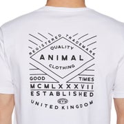 Animal Established Kurzarm-T-Shirt