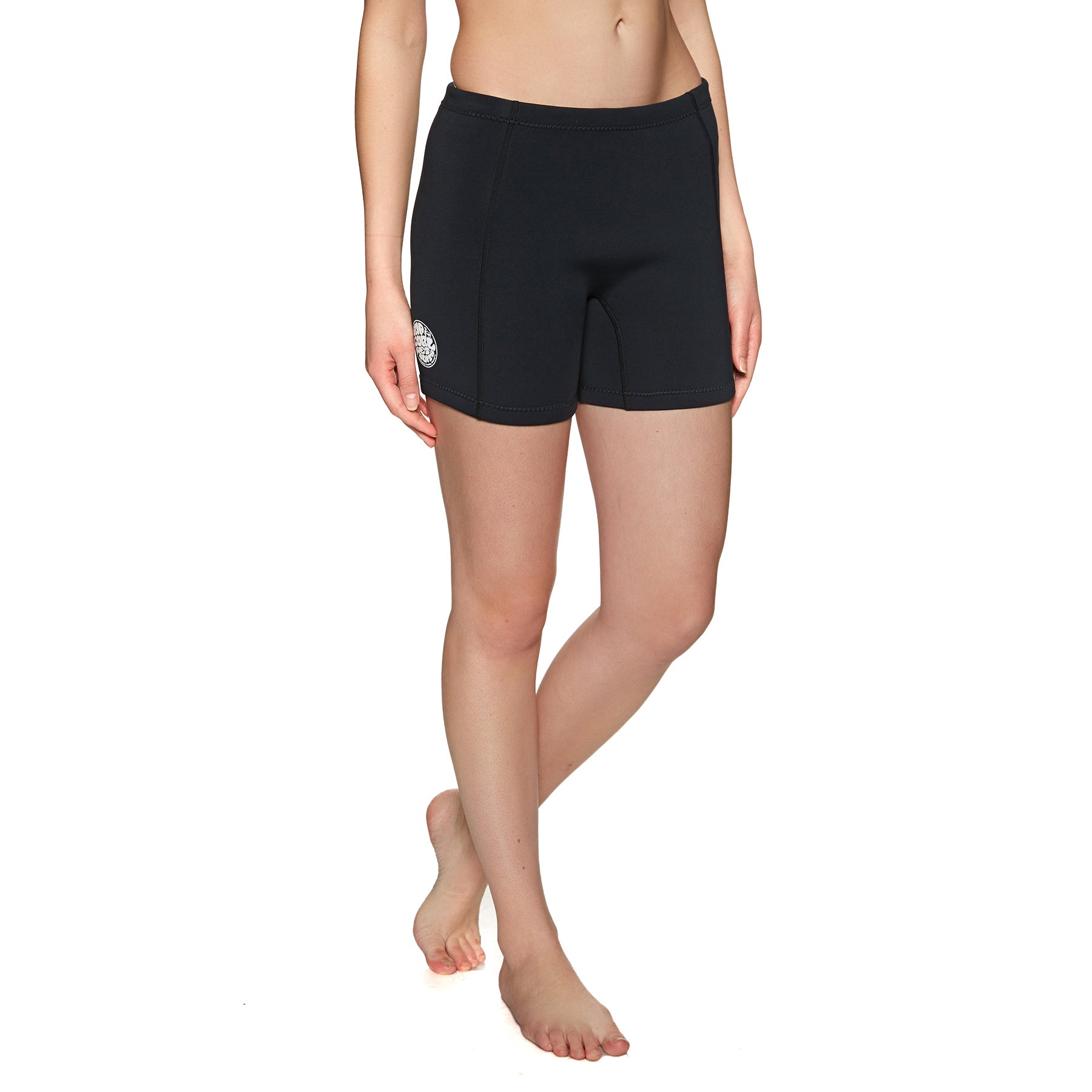 Rip Curl Dawn Patrol 1mm Neo Womens Wetsuit Shorts - Black