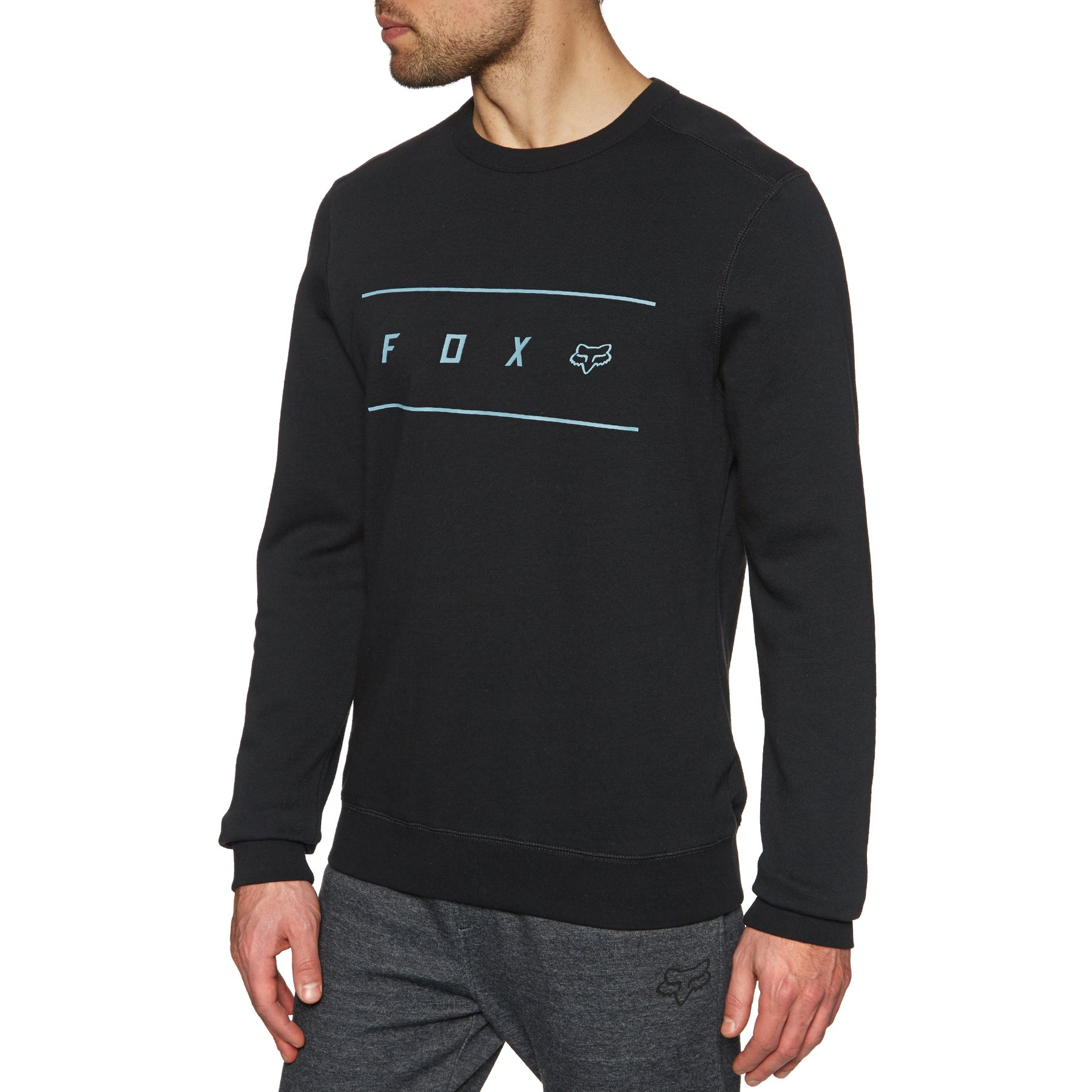 Fox Racing Surge Crew Fleece Pullover - Black