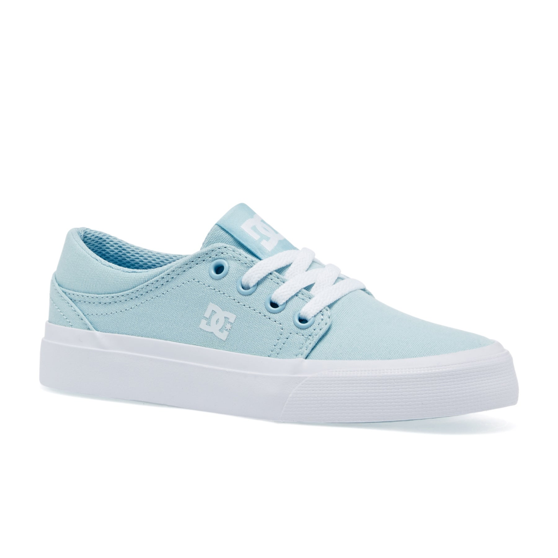 DC Trase TX Girls Shoes - Powder Blue