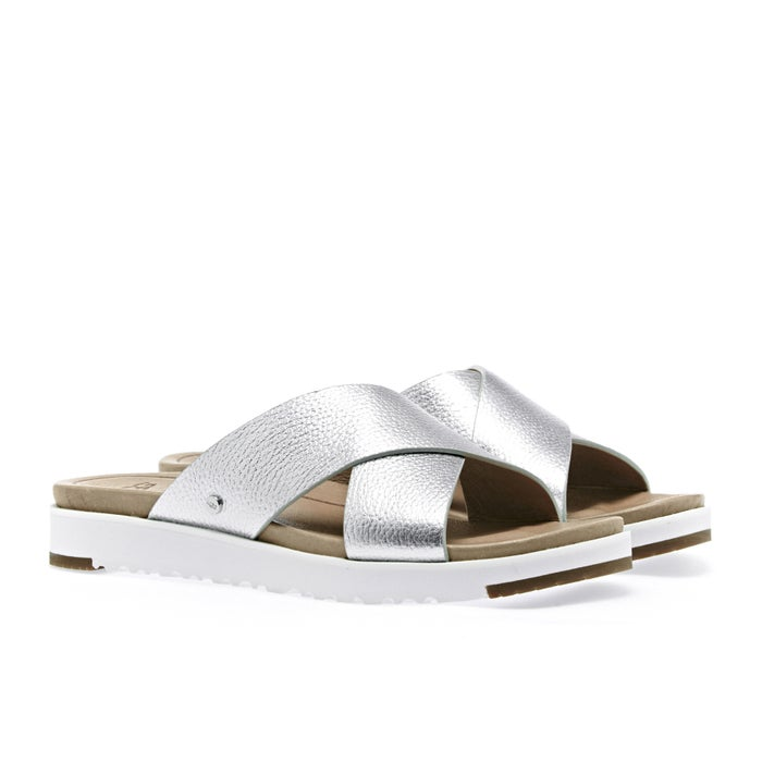 UGG Kari Metallic Slider Sandals