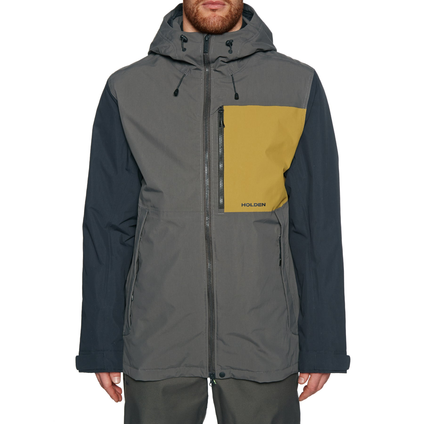 Holden Outpost Snow Jacket - Shadow Black Mojave
