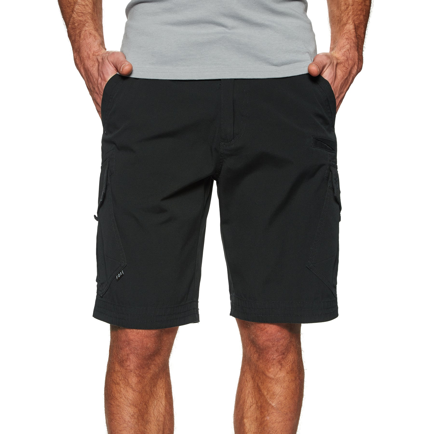 Fox Racing Slambozo Cargo Walk Shorts - Black