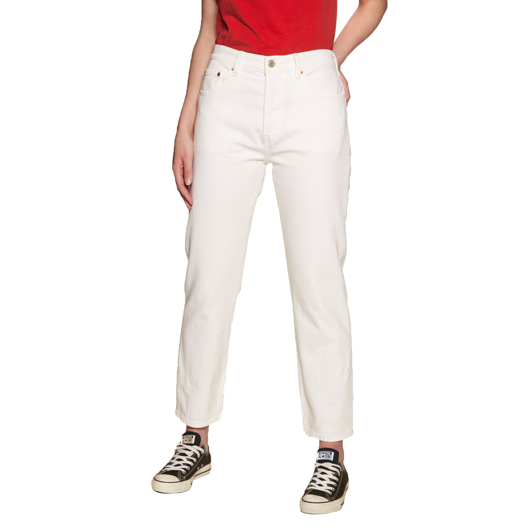 Jeans Femme Levis 501 Crop - In The Clouds