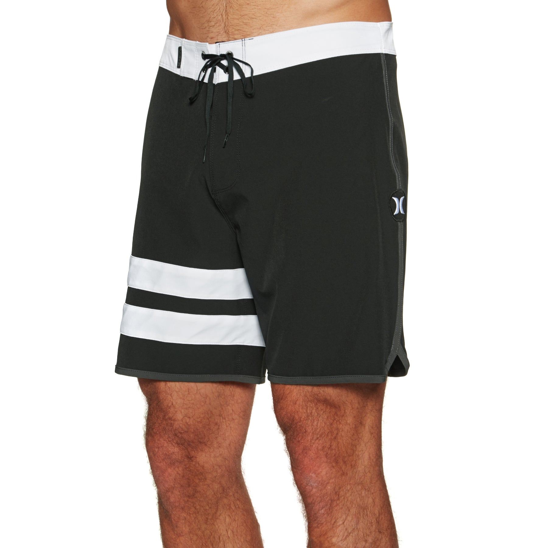 Boardshort Hurley Phantom Block Party Solid 18in - Black