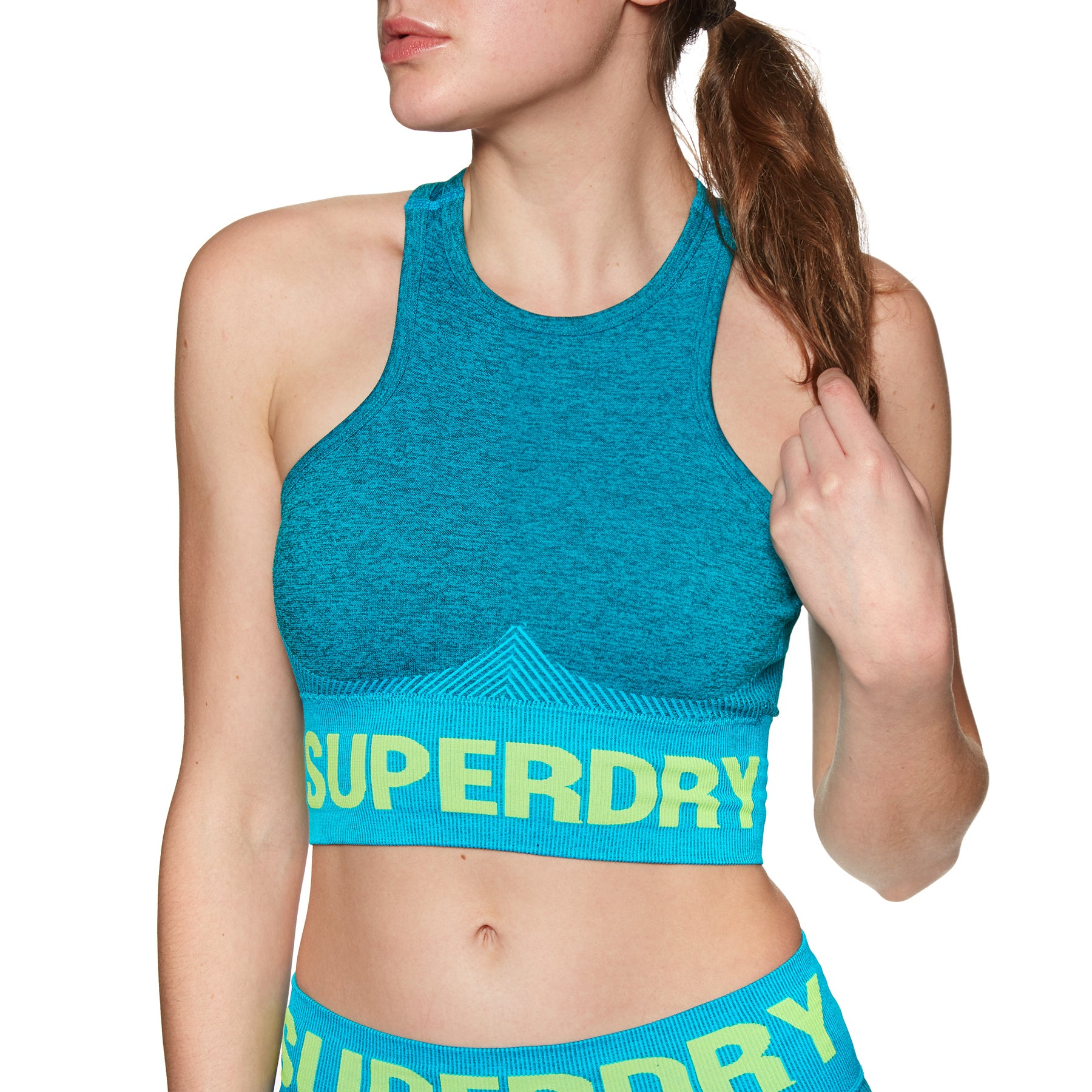 Sports Bra Femme Superdry Active Seamless - Botanical Green