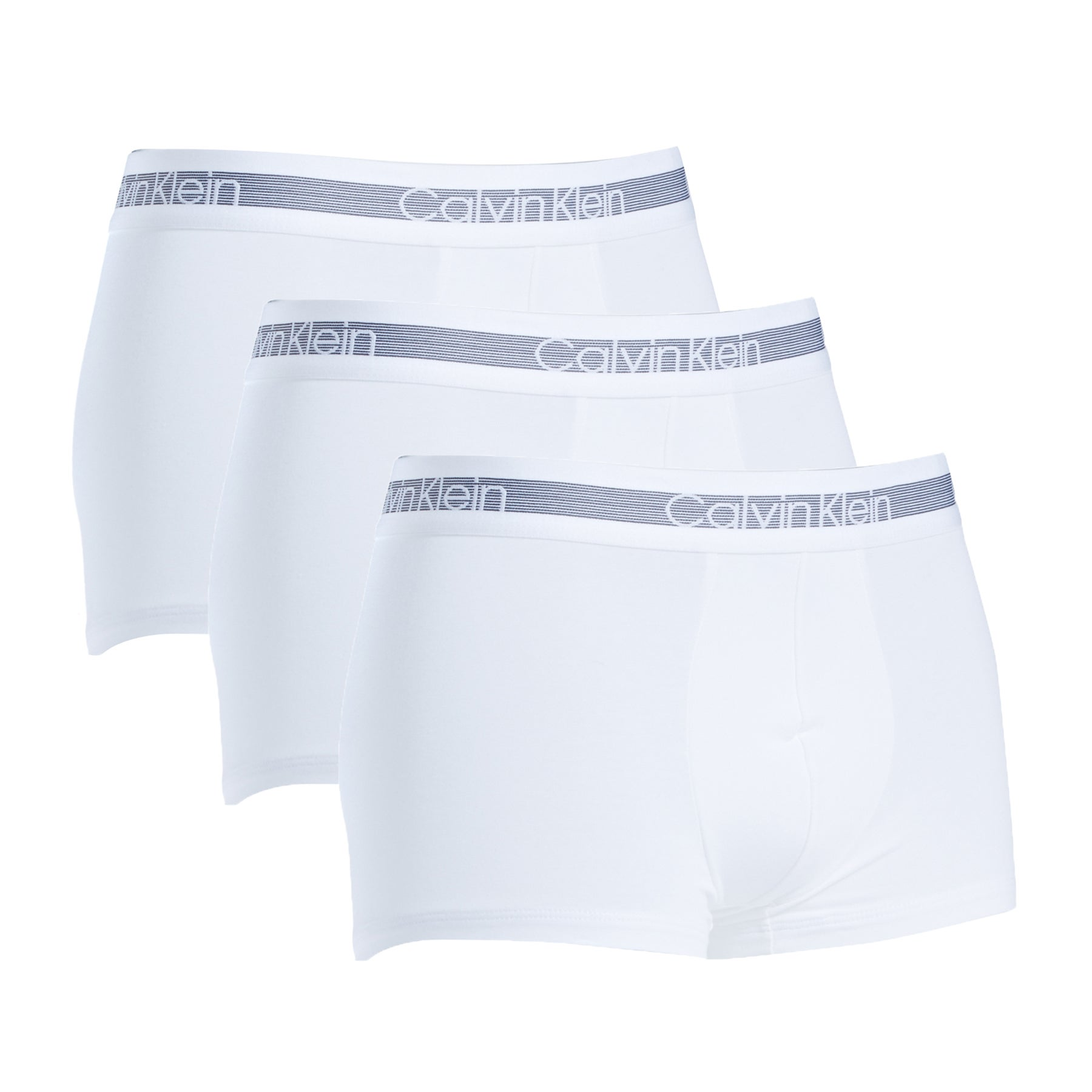 Calvin Klein Cooling Trunk 3pk Boxer Shorts - White