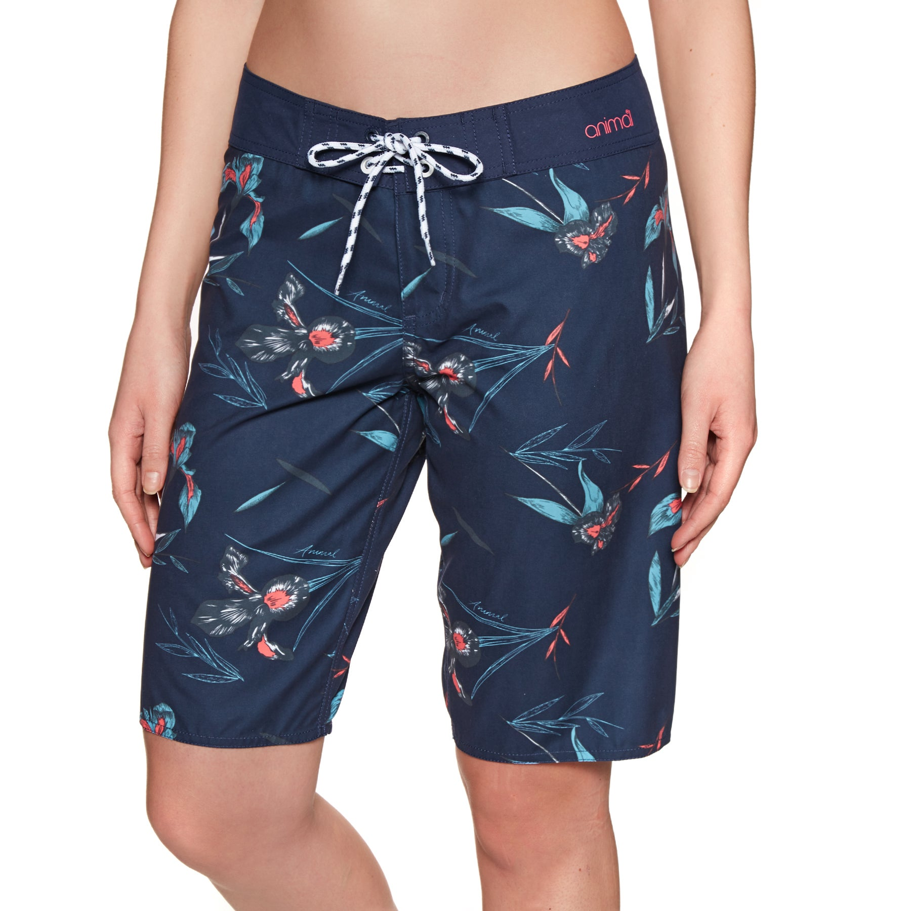 Boardshort Femme Animal Fian - Mid Navy Blue