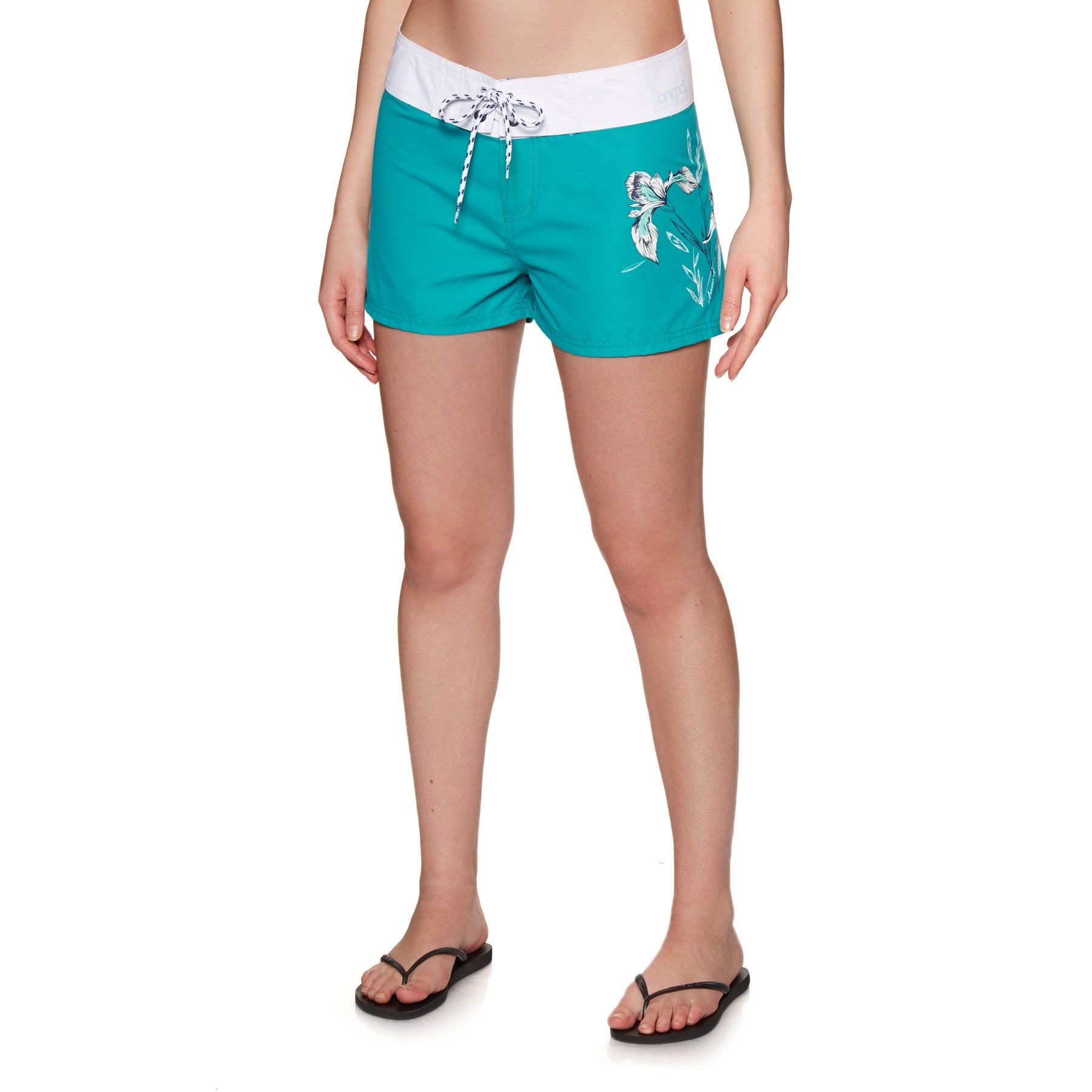 Animal Fianno Womens Boardshorts - Capri Blue