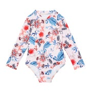 Maillot de Bain Seafolly Long Sleeve Surf