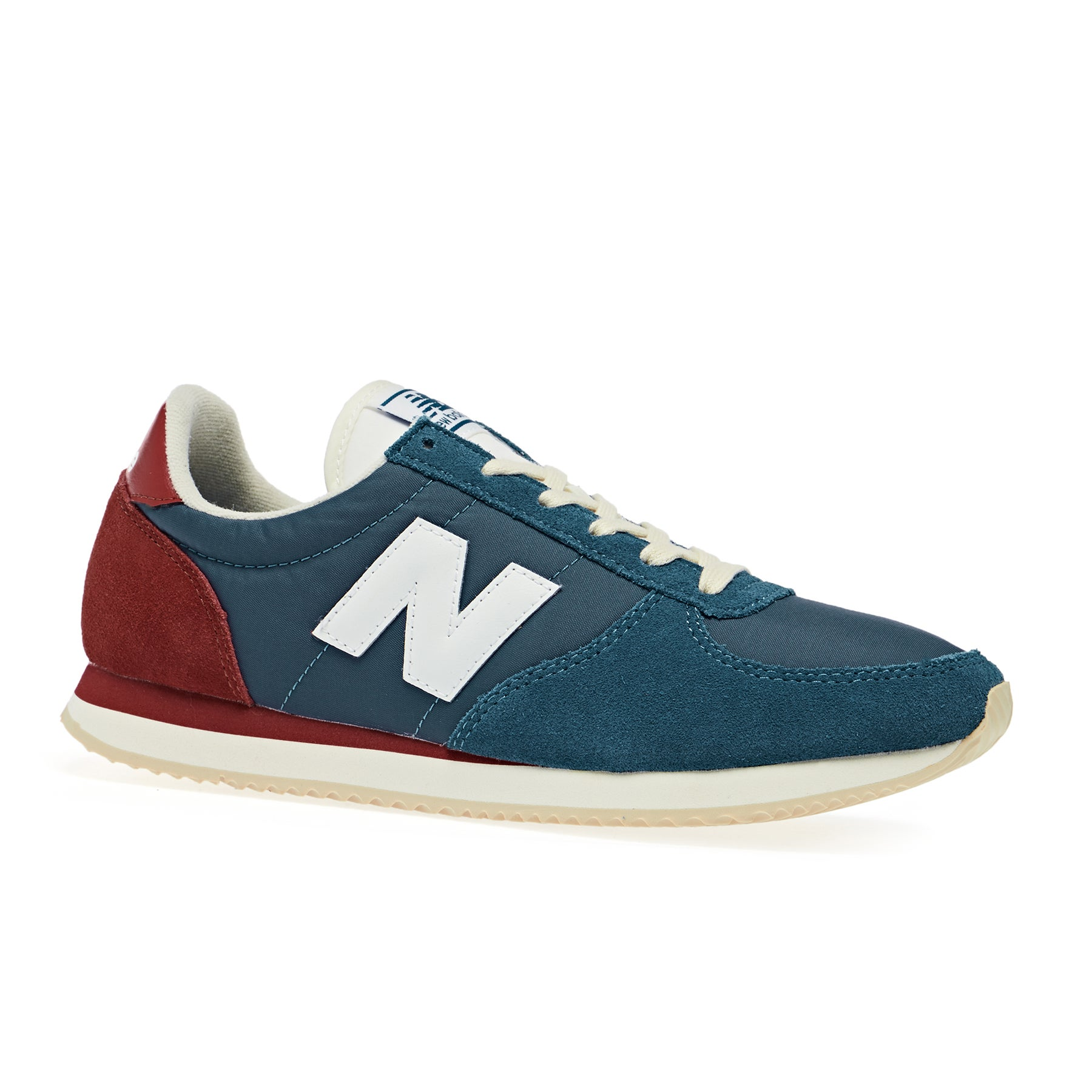New Balance 220 Core Pack Shoes - Classic Blue Tempo Red