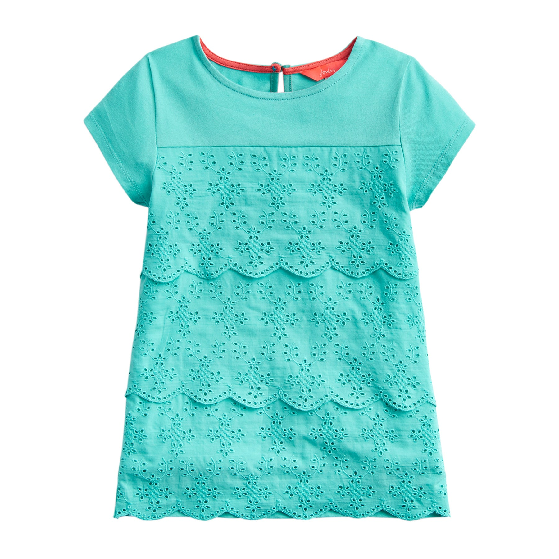 Joules Brodie Girls Top - Turquoise