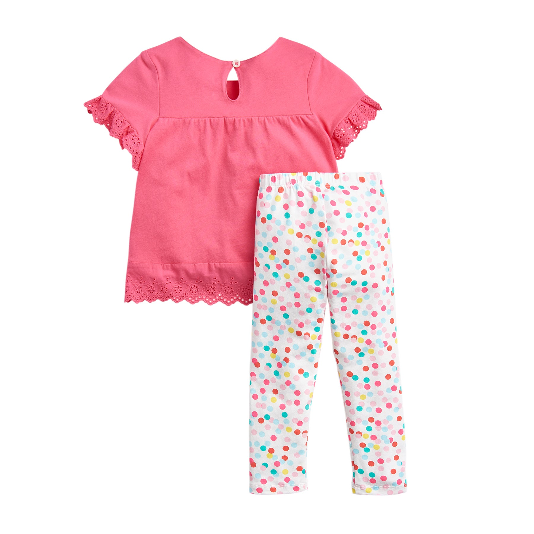 Joules Nell Girls Top - Bright Pink