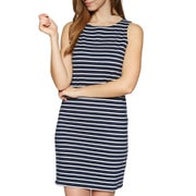 Navy Cream Stripe