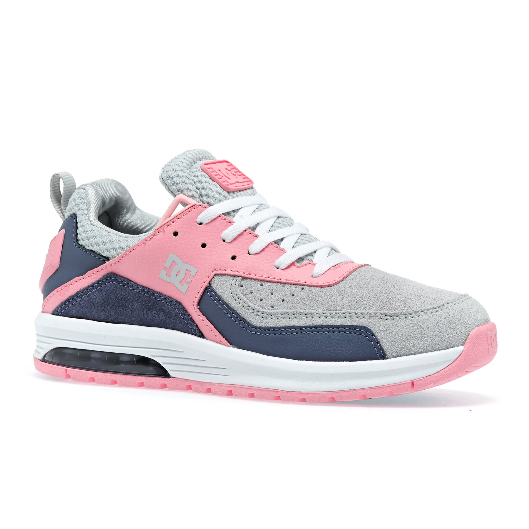 DC Vandium Se J Shoe Gp2 Womens Shoes - Grey Pink