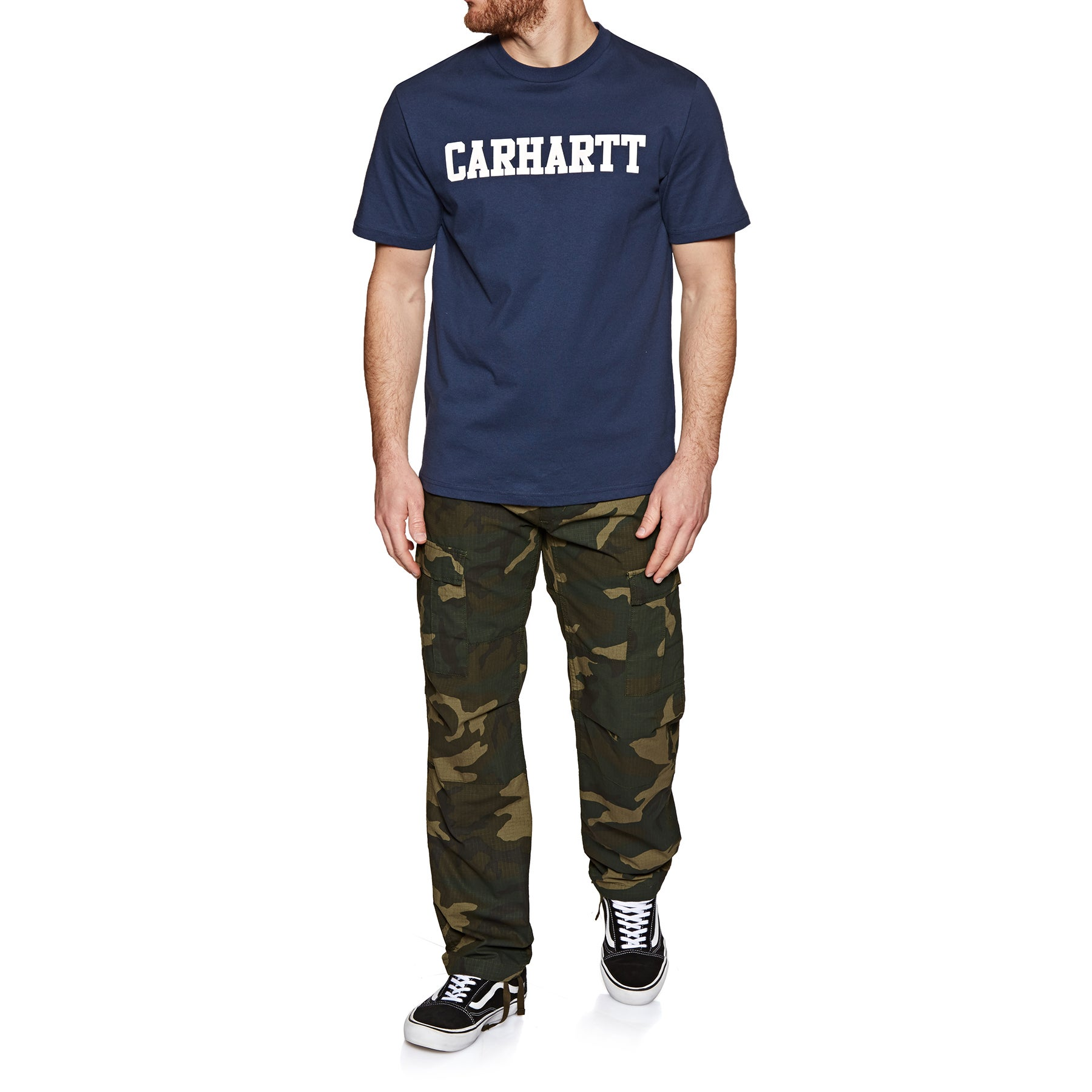 Pantalon Cargo Carhartt Aviation - Camo Laurel