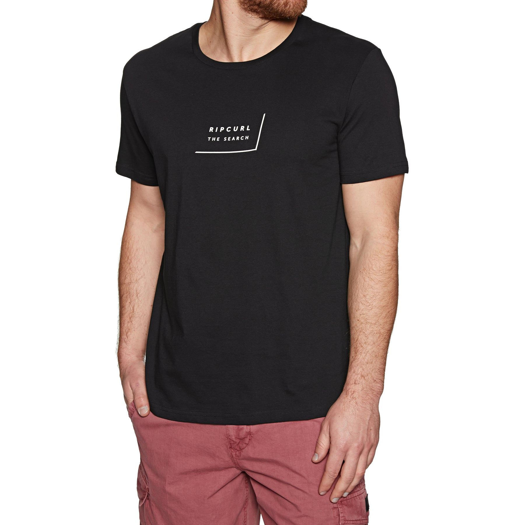 T-Shirt à Manche Courte Rip Curl Daily - Black