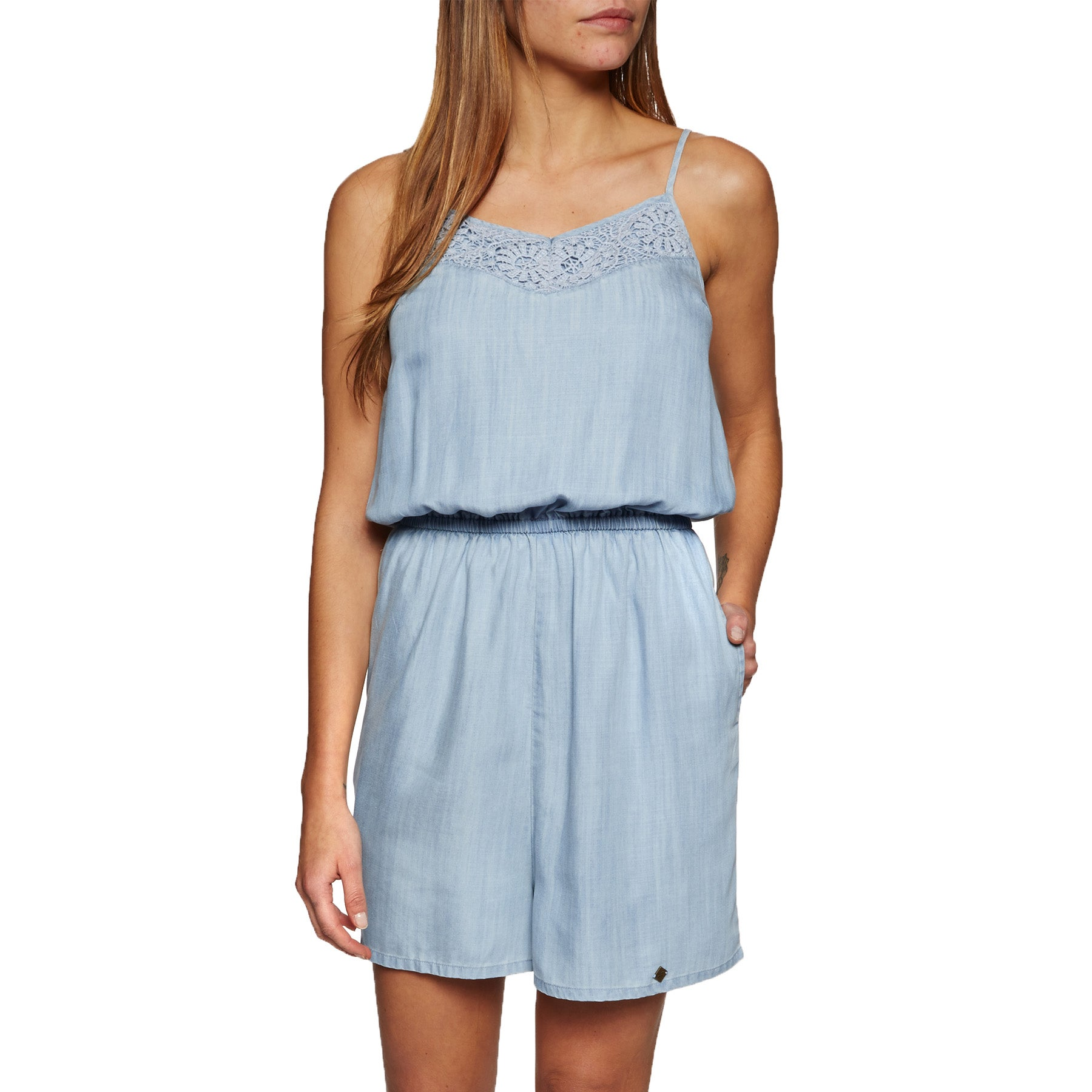 Playsuit Superdry Tess - Vacation Blue