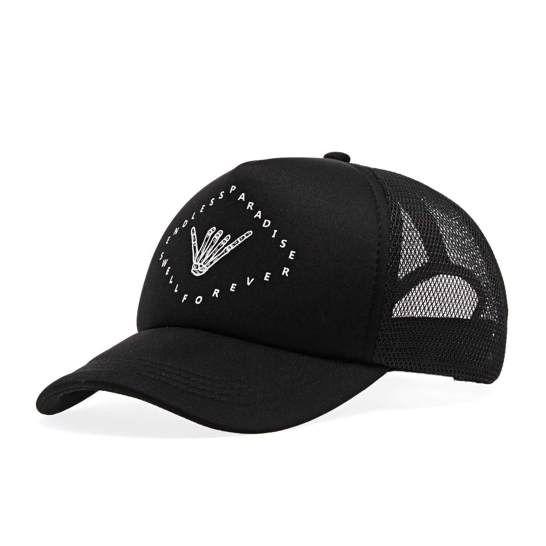 Casquette SWELL Coastal Trucker - Black