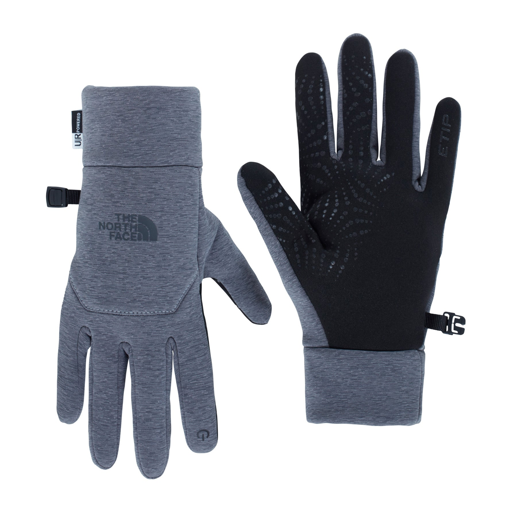 North Face ETIP Womens Gloves - TNF Medium Grey Heather