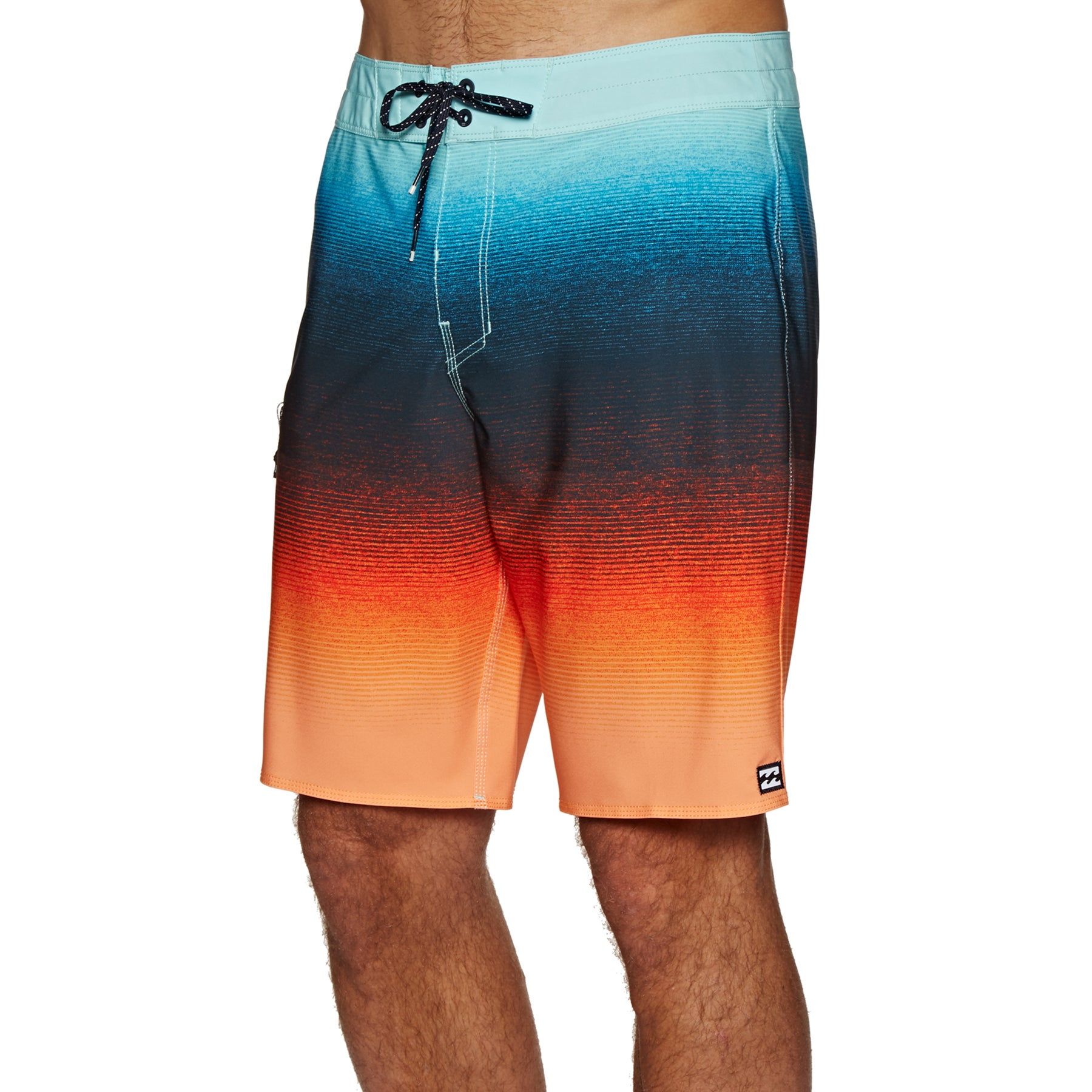 Shorts de surf Billabong Fluid Airlite - Orange