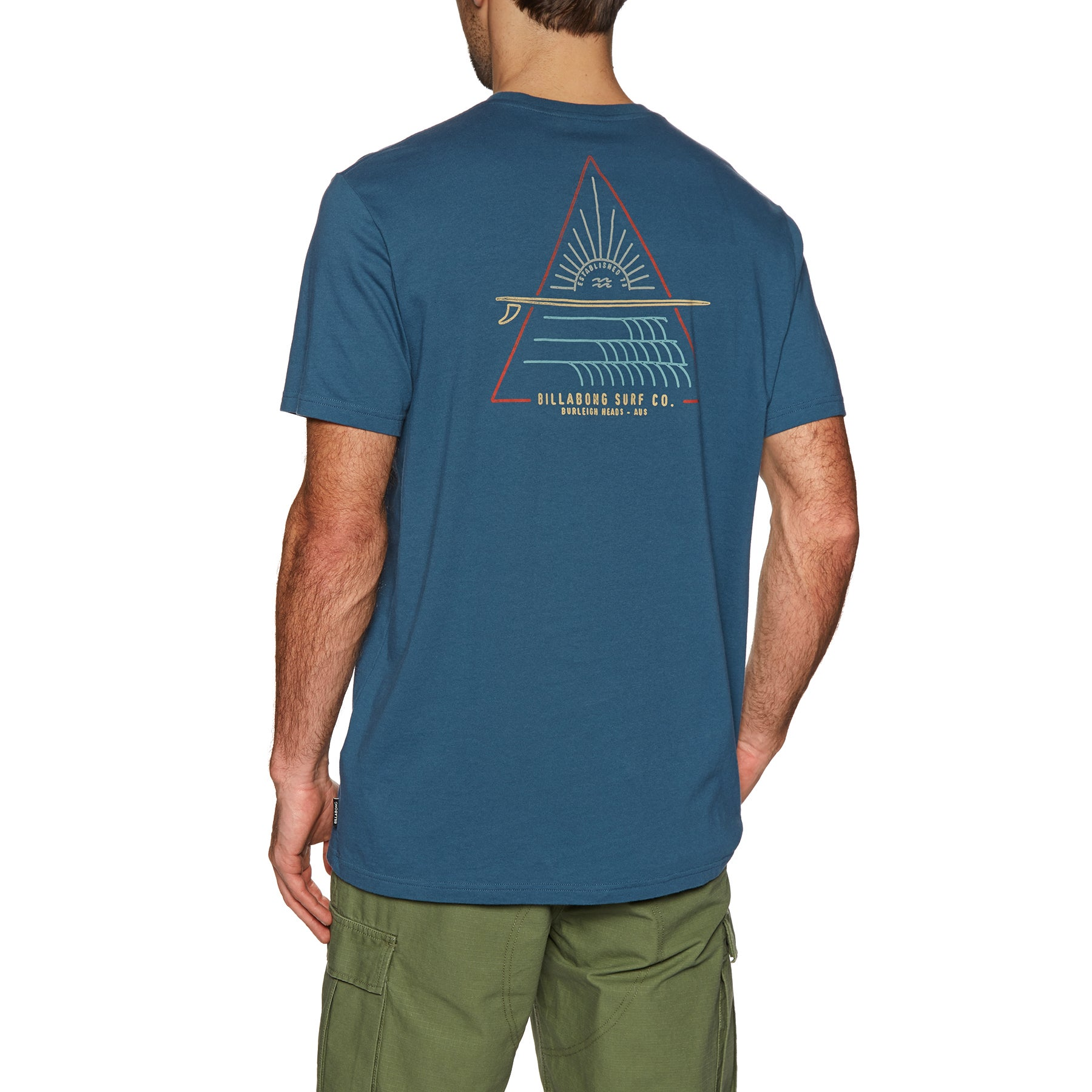 Camiseta de manga corta Billabong Prismboard - Dark Royal