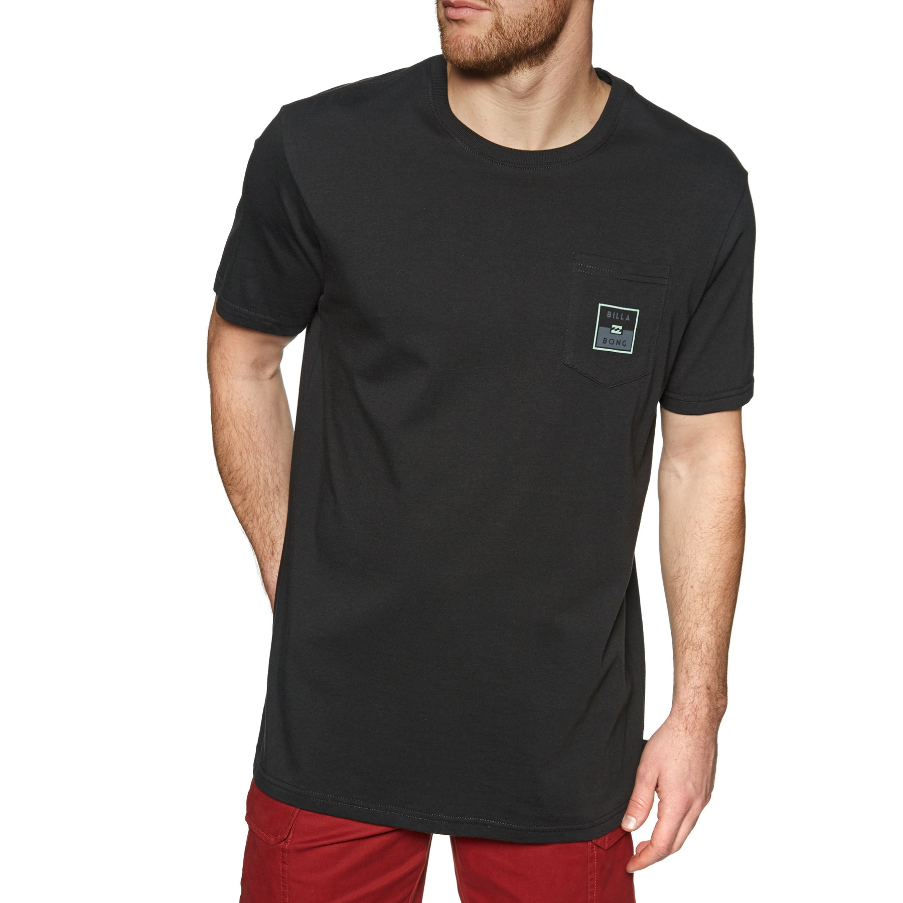 Camiseta de manga corta Billabong Stacked - Black