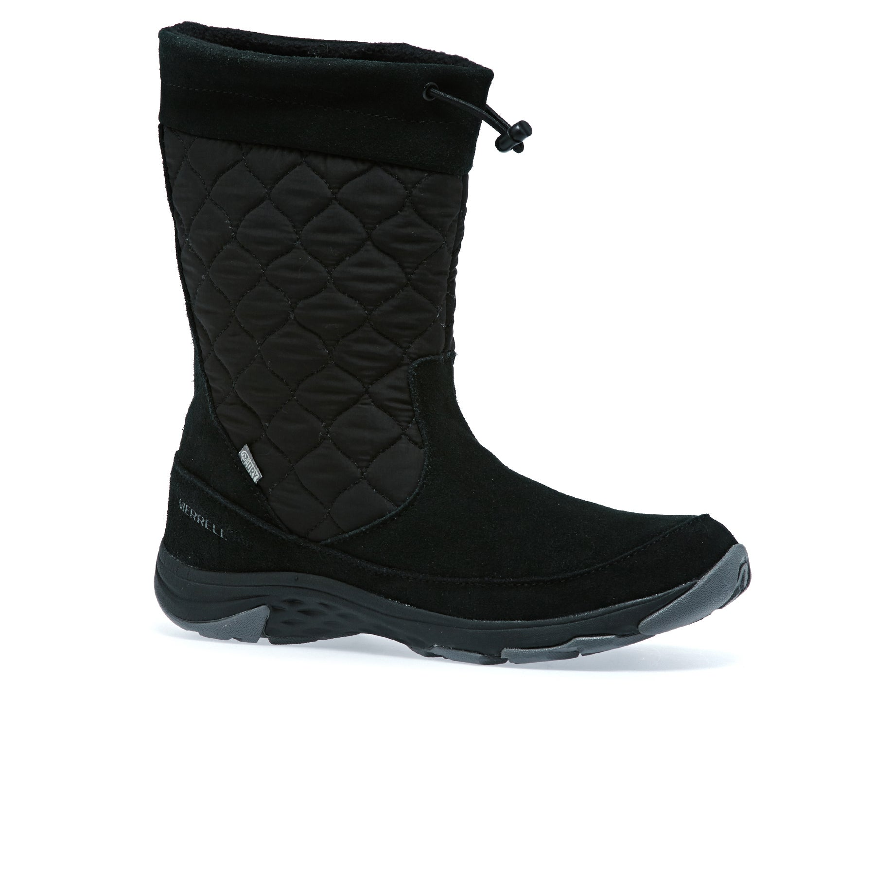Merrell Approach Pull On LTR WP Womens Boots - Black